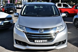 2014 Honda Odyssey RC MY14 VTi Silver 7 Speed Constant Variable Wagon.