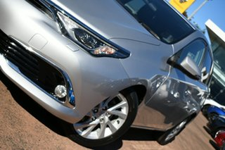 2017 Toyota Corolla ZWE186R MY16 Hybrid Silver Continuous Variable Hatchback.