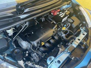 2014 Toyota Yaris Blue 5 Speed Automatic Hatchback