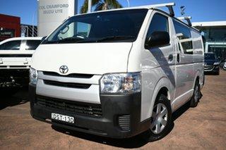 2017 Toyota HiAce KDH201R MY16 LWB White 5 Speed Manual Van.