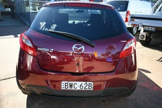 2011 Mazda 2 DE MY10 Neo Red 5 Speed Manual Hatchback