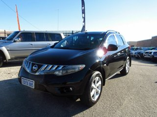 2011 Nissan Murano Z51 MY12 TI Black Continuous Variable Wagon