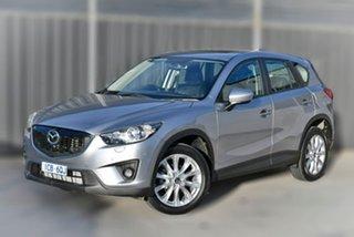 2013 Mazda CX-5 KE1021 MY14 Grand Touring SKYACTIV-Drive AWD Silver 6 Speed Sports Automatic Wagon.