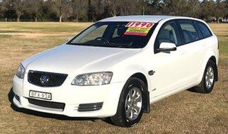 2012 Holden Commodore VE II MY12 Omega Sportwagon White 6 Speed Sports Automatic Wagon.