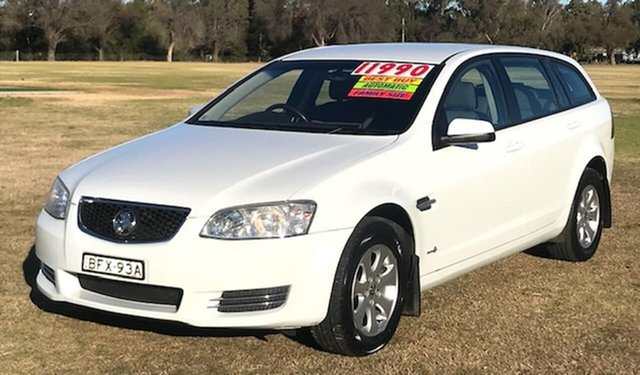 Used Holden Commodore VE II MY12 Omega Sportwagon Tamworth, 2012 Holden Commodore VE II MY12 Omega Sportwagon White 6 Speed Sports Automatic Wagon