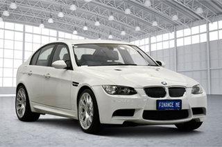 2009 BMW M3 E90 M-DCT White 7 Speed Sports Automatic Dual Clutch Sedan.