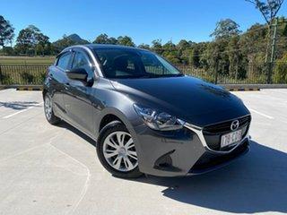 2018 Mazda 2 DJ2HAA Neo SKYACTIV-Drive Grey 6 Speed Sports Automatic Hatchback.
