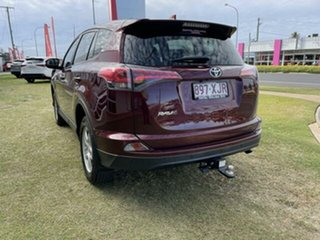 2017 Toyota RAV4 ZSA42R MY17 GX (2WD) Red Continuous Variable Wagon