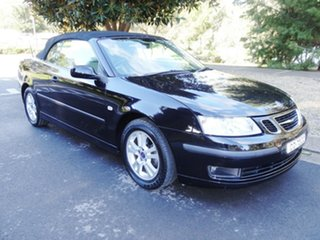 2007 Saab 9-3 442 MY2007 Linear Black 5 Speed Sports Automatic Convertible