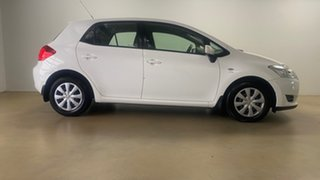 2007 Toyota Corolla ZRE152R Ascent White 4 Speed Automatic Hatchback.
