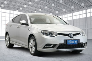 2017 MG MG6 IP2X Excite Scottish Silver 6 Speed Sports Automatic Dual Clutch Hatchback.
