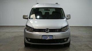2012 Volkswagen Caddy 2KN MY13 TDI250 Crewvan Maxi DSG Silver 7 Speed Sports Automatic Dual Clutch
