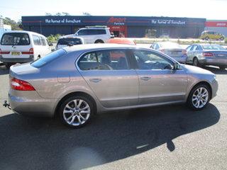 2011 Skoda Superb 3T MY11 118 TSI Elegance Bronze 7 Speed Auto Direct Shift Sedan.