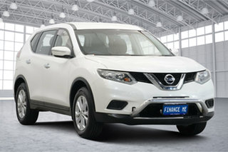 2015 Nissan X-Trail T32 TS X-tronic 2WD White 7 Speed Constant Variable Wagon.
