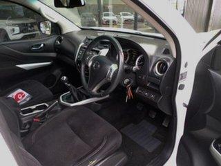 2016 Nissan Navara D23 Series II ST (4x4) White 6 Speed Manual Dual Cab Utility