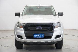 2017 Ford Ranger PX MkII XL Hi-Rider Ingot Silver 6 Speed Sports Automatic Utility.