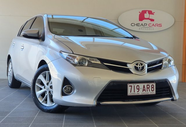 Used Toyota Corolla ZRE182R Ascent Sport S-CVT Brendale, 2014 Toyota Corolla ZRE182R Ascent Sport S-CVT Silver 7 Speed Constant Variable Hatchback
