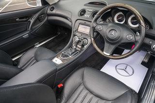 2009 Mercedes-Benz SL-Class R230 MY09 SL350 Iridium Silver 7 Speed Automatic Roadster.
