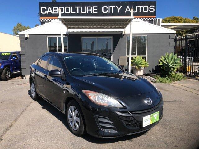 Used Mazda 3 BL 11 Upgrade Neo Morayfield, 2011 Mazda 3 BL 11 Upgrade Neo Black 5 Speed Automatic Sedan