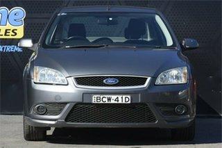 2007 Ford Focus LS LX Grey 4 Speed Sports Automatic Sedan.
