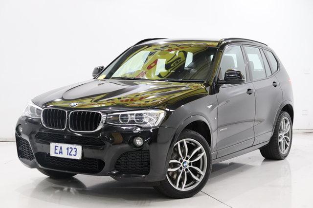 Used BMW X3 F25 LCI MY0414 xDrive20d Steptronic Brooklyn, 2015 BMW X3 F25 LCI MY0414 xDrive20d Steptronic Black 8 Speed Automatic Wagon