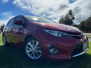2013 Toyota Corolla ZRE182R Ascent Sport S-CVT Red 7 Speed Constant Variable Hatchback.