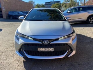 2019 Toyota Corolla ZWE211R SX E-CVT Hybrid Silver Pearl 10 Speed Constant Variable Hatchback