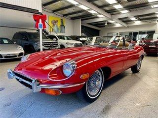 1970 Jaguar E-Type Series 2 4.2 Red 4 Speed Manual Roadster