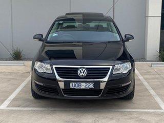 2006 Volkswagen Passat Type 3C TDI DSG Black 6 Speed Sports Automatic Dual Clutch Sedan.