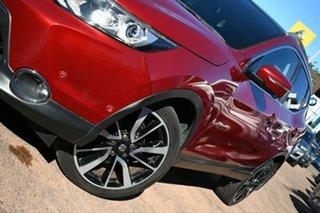 2014 Nissan Qashqai J11 TL Red Continuous Variable Wagon.