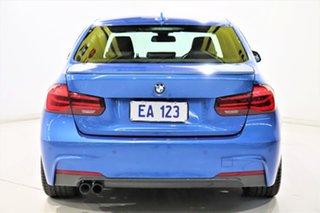 2018 BMW 3 Series F30 LCI 330i Sport Line Blue 8 Speed Sports Automatic Sedan