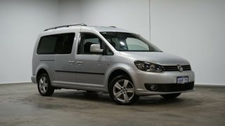 2012 Volkswagen Caddy 2KN MY13 TDI250 Crewvan Maxi DSG Silver 7 Speed Sports Automatic Dual Clutch.