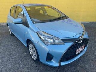 2014 Toyota Yaris Blue 5 Speed Automatic Hatchback.