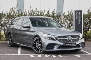 2020 Mercedes-Benz C-Class S205 800+050MY C200 Estate 9G-Tronic Selenite Grey 9 Speed.