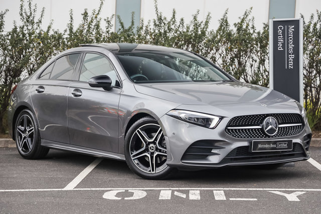 Certified Pre-Owned Mercedes-Benz A-Class V177 800MY A200 DCT Mulgrave, 2019 Mercedes-Benz A-Class V177 800MY A200 DCT Mountain Grey 7 Speed Sports Automatic Dual Clutch