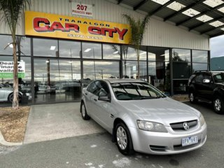 2007 Holden Commodore VE MY08 Omega Silver 4 Speed Automatic Sedan.