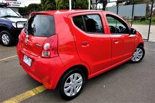 2012 Suzuki Alto GF GLX Red 5 Speed Manual Hatchback.