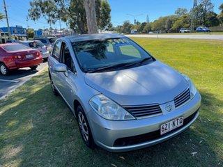 2008 Nissan Tiida C11 MY07 ST Silver 4 Speed Automatic Sedan