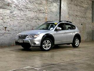 2010 Subaru Impreza G3 MY11 XV AWD Silver 4 Speed Sports Automatic Hatchback.