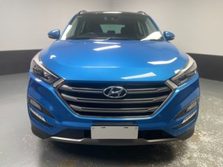2016 Hyundai Tucson TLE Highlander AWD Blue 6 Speed Sports Automatic Wagon.