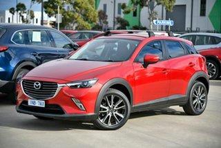 2016 Mazda CX-3 DK2W76 sTouring SKYACTIV-MT Red 6 Speed Manual Wagon.