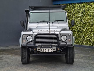 2012 Land Rover Defender 110 12MY Silver 6 Speed Manual Wagon.