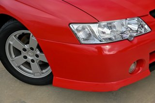 2003 Holden Commodore VY S Red 5 Speed Manual Sedan.