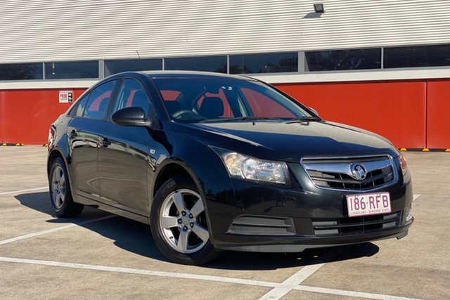 Used Holden Cruze JG CD Morayfield, 2010 Holden Cruze JG CD Black 6 Speed Automatic Sedan