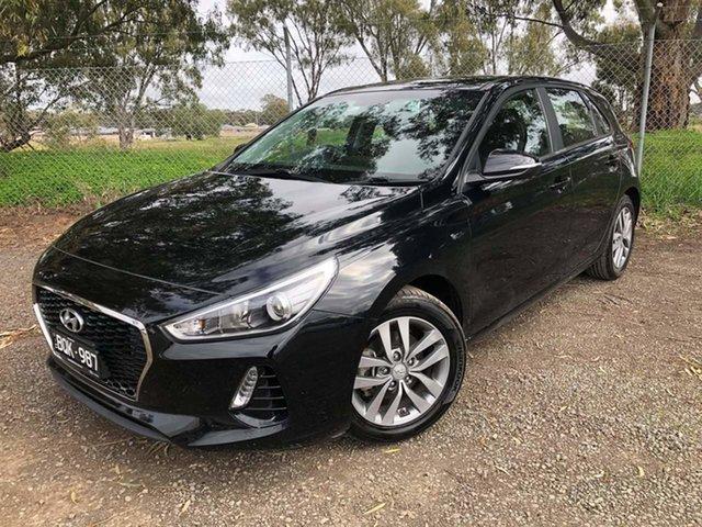 Used Hyundai i30 PD MY18 Active Epsom, 2017 Hyundai i30 PD MY18 Active Black 6 Speed Sports Automatic Hatchback