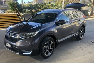 2017 Honda CR-V MY18 VTi-LX (AWD) Grey Continuous Variable Wagon.