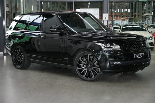 Used Land Rover Range Rover L405 17MY Autobiography North Melbourne, 2017 Land Rover Range Rover L405 17MY Autobiography Black 8 Speed Sports Automatic Wagon
