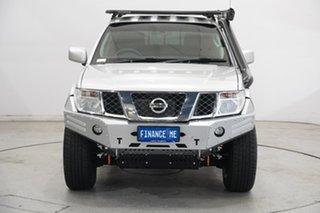 2014 Nissan Navara D40 S9 Silverline SE Silver 6 Speed Manual Utility.