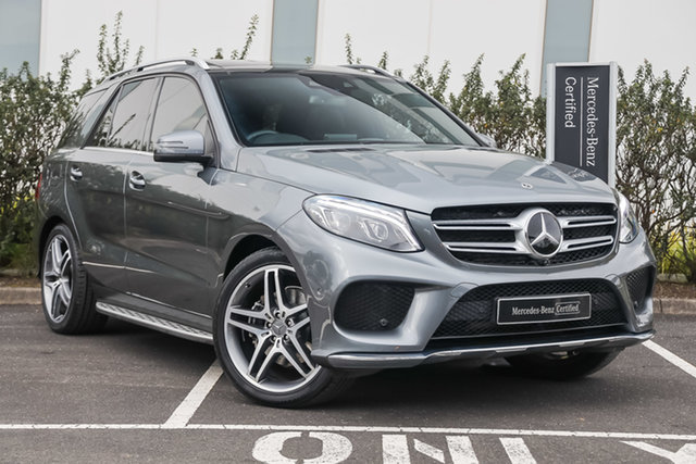 Certified Pre-Owned Mercedes-Benz GLE-Class W166 808MY GLE250 d 9G-Tronic 4MATIC Mulgrave, 2017 Mercedes-Benz GLE-Class W166 808MY GLE250 d 9G-Tronic 4MATIC Selenite Grey 9 Speed