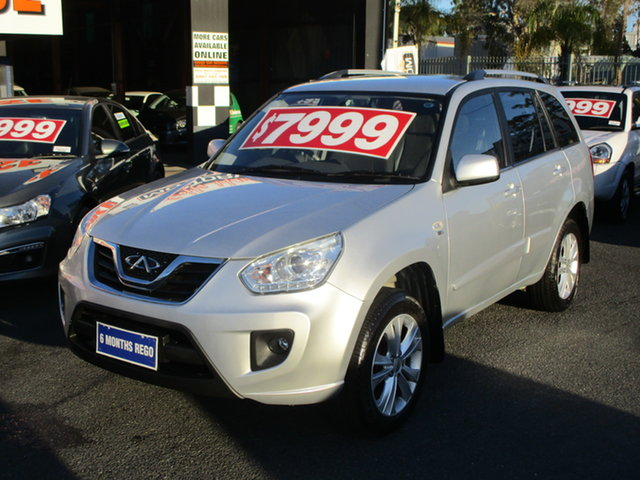 Used Chery J11 T1X MY14 (FWD) Coffs Harbour, 2014 Chery J11 T1X MY14 (FWD) Silver 7 Speed CVT Auto Sequential Wagon